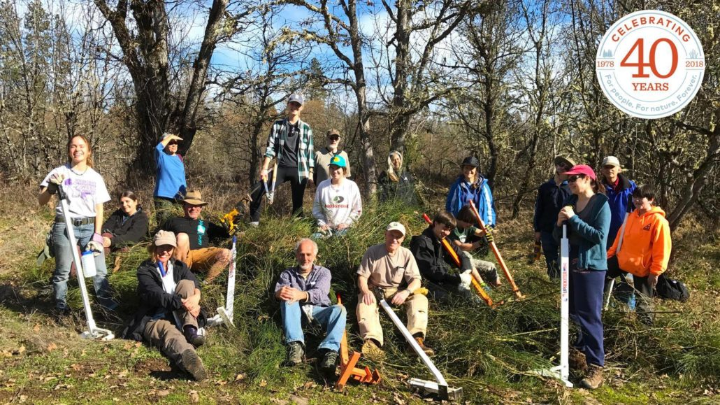 Stewardship Event with Southern Oregon Land Conservancy